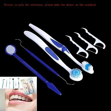 asmaza (TM) Herramientas de limpieza Oral Cuidado Dental Cepillo de dientes Kit de higiene