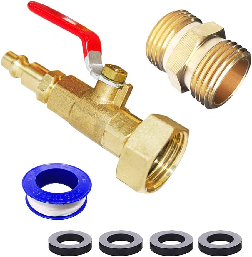 HQMPC RV Winterize Adapter Blowout Adapter 1/4