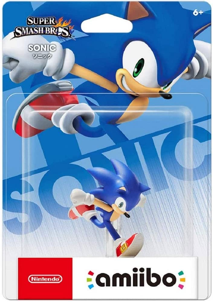 MMZ Super Smash Bros. Amiibo: Sonic Figurita!Figura de acción de la Serie Super Smash Bros. Juego Obra Maestra Figura Coleccionable de importación de Japón (Wii U / 3DS / Switch): Amazon.es: Hogar