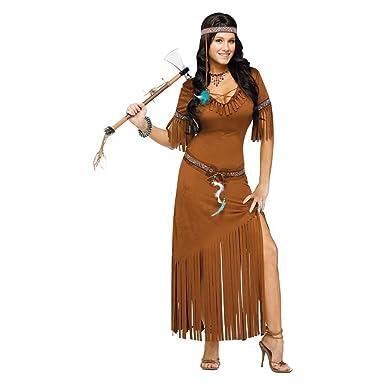 Indian Costume Adult Princess Halloween Fancy Dress (2x (plus Size 2x))