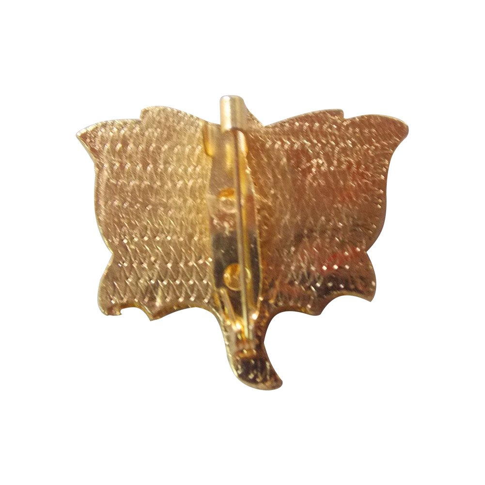 Bjp Political Party Symbol Lotus Tricolor Metal Stone Decorated