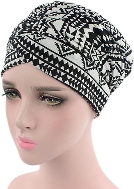 Mode Muslim Elastic turbante Ramadán Pañuelo Bufanda cabeza protectora sombrero Cabeza Mujer Mujeres India verano elegante