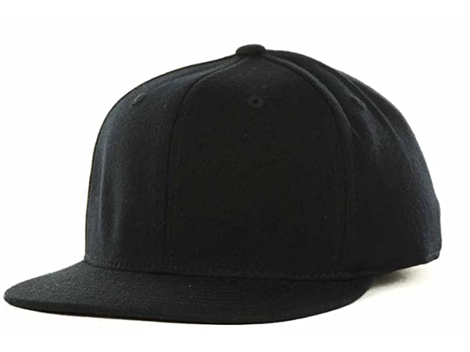 f57e5d2c1 Top of the World by Lids Stretch Fitted Blank Slam One-Fit Flex Flat Bill  Baseball Hat Cap