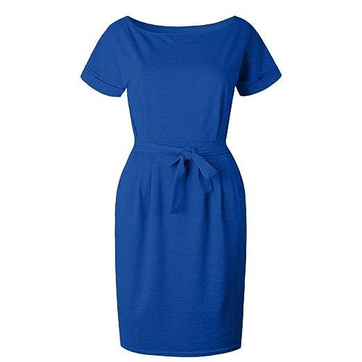 Vestidos azul electrico para gorditas
