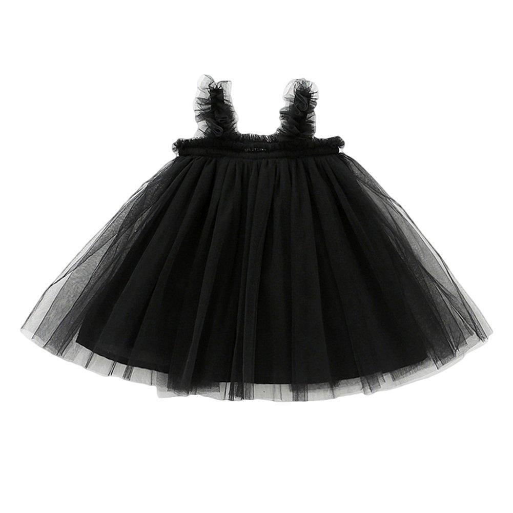 6171d14e8 Amazon.com: YOHA Baby Girls Cotton Soft Bow Jumper Dress Suspender Skirts  Pinafore Dress: Clothing