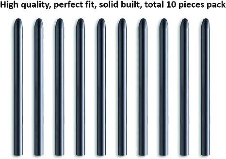 Punte di ricambio standard per Wacom Bamboo Stylus Pen Intuos Cintiq 13HD 22HD Touch 27QHD Touch Pro Paper Ink Sketch Solo Fineline Alpha Folio Slate Inkspace Paper Paper 10 Pack