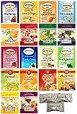 Twinings, Ahmad, Teekanne Variety Herbal Tea Pack. (36 count). Includes Our Exclusive HolanDeli Mints.