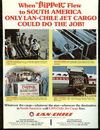 lan-chile-airlines-jet-cargo-when-flipper-flew-airline-timetable-sheet-1975