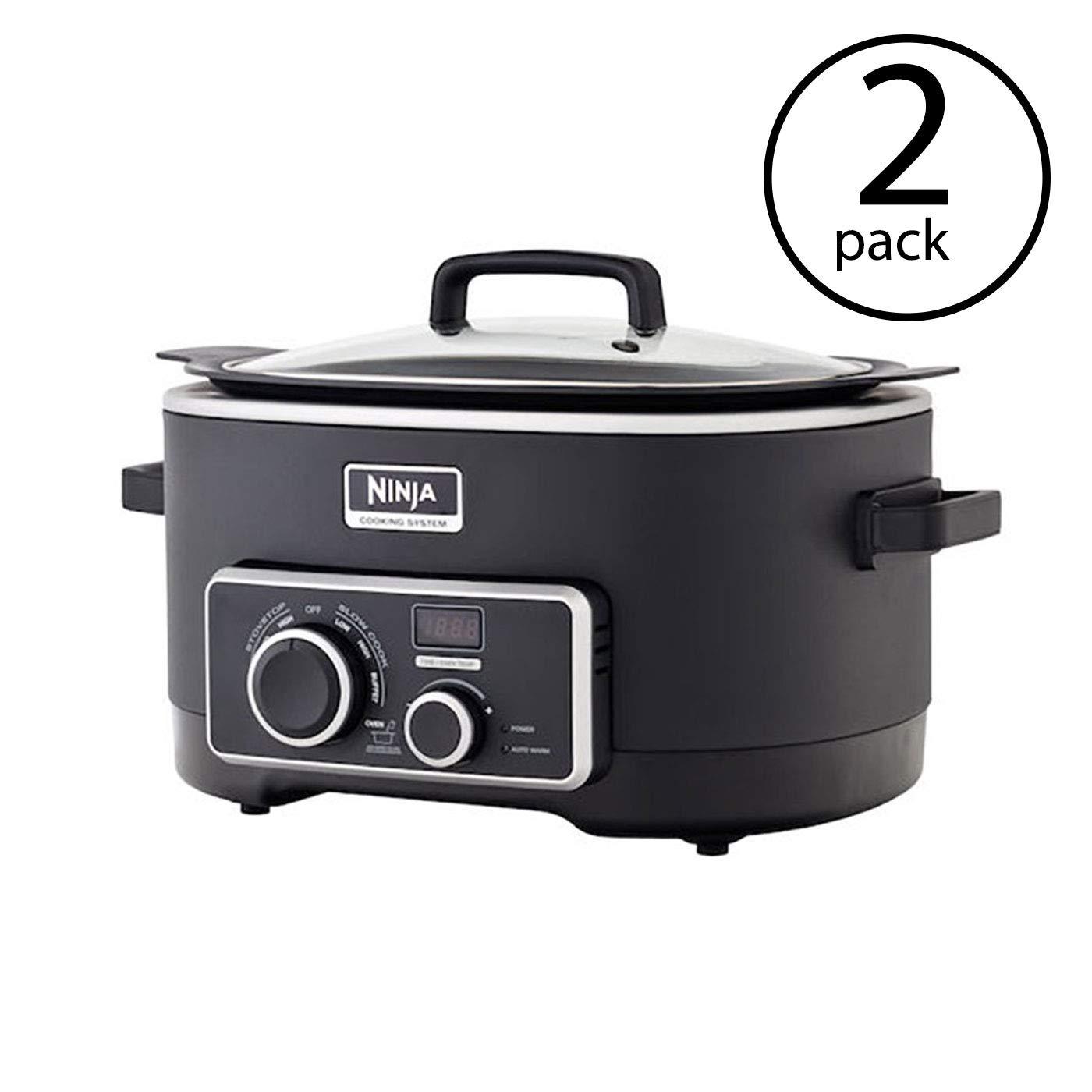 Amazon.com: Ninja 6 Quart 3-1 Black Multi-System Slow Cooker ...
