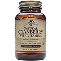 Solgar® Arándano Rojo con Vitamina C para el tracto genitourinario y como antioxidante…