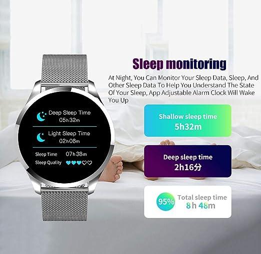 Relojes Inteligentes Q9 Smart Watch SMS Call Recordatorio Hombres ...