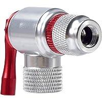Liseng - Bomba de aire para bicicleta, bomba de aire, cabeza e hilo, tanque de gas CO2, cubierta de goma para inflador…