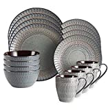 Gourmet Basics by Mikasa Broadway 16-Piece Dinnerware Set by Gourmet For Sale