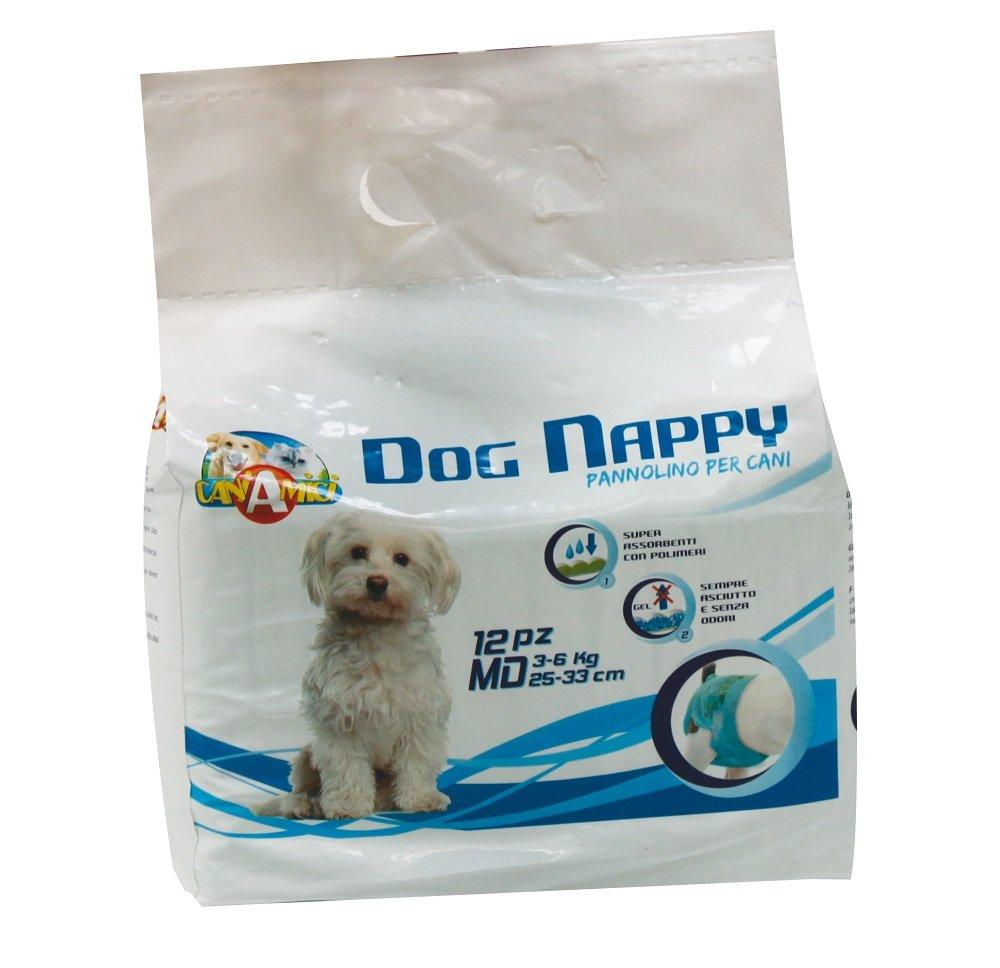 CROCI Dog Nappy, Medium, Pack of 12 C6020381