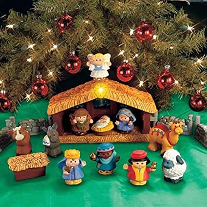 Fisher Price Little People Deluxe Christmas Story