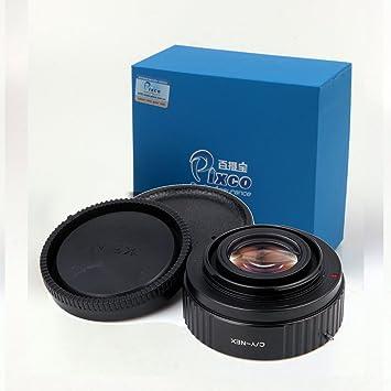 Pixco Pro Focusing Infinity Focal Reducer Speed Booster Lens Adapter with Optical Glass for Minolta MD Lens to Sony E Mount NEX-5C NEX-5N NEX-5R NEX-6 NEX-7 NEX-F3 VG10