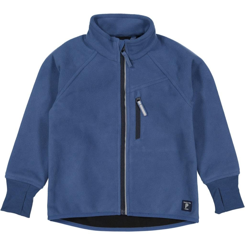 Polarn O. Pyret Wind Fleece Jacket (2-6YRS) - Ensign Blue/2-3 Years