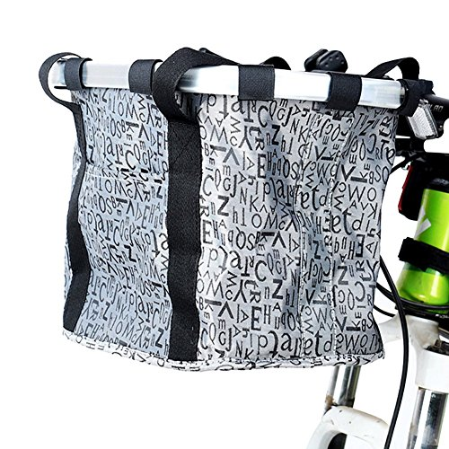 Altruism Bicycle Basket Bike Front Handlebar Bag Aluminum Alloy Cesta Bolsa para Bicicleta Fiets Mandje Avant de Bicyclette Panier