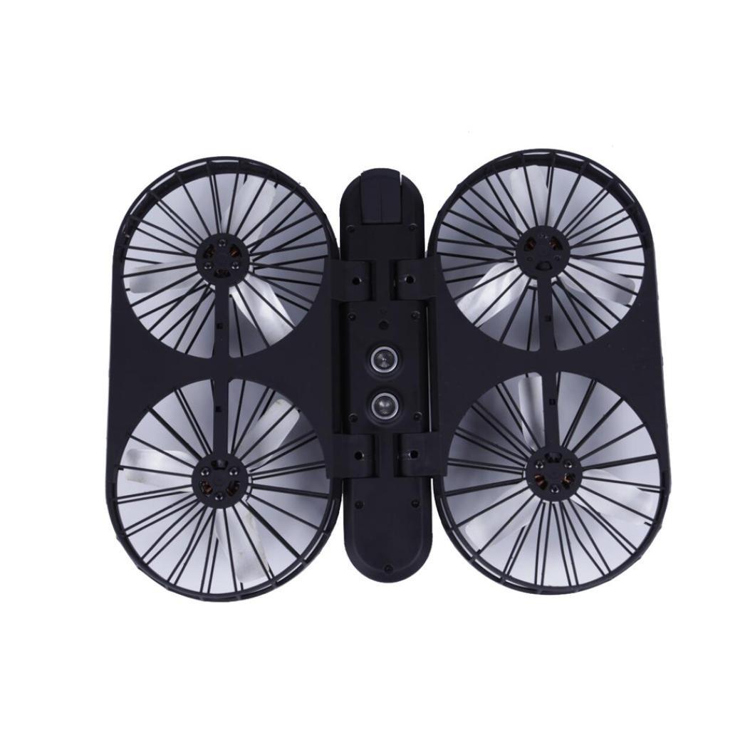 Dreamyth Super Delight HOSHI007 Pro Selfie Quadcopter GPS Wifi FPV 1080P 4K Camera Brushles Helicopter (Black)