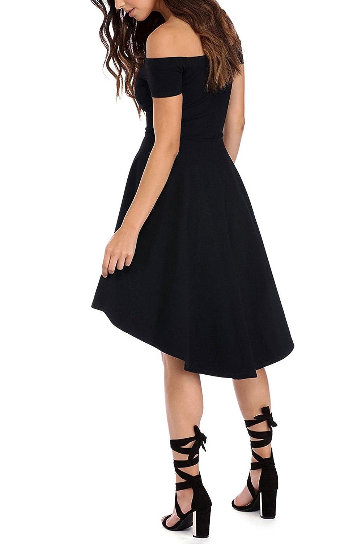 Amazon.com: Sarin Mathews Vestido con falda estilo ...