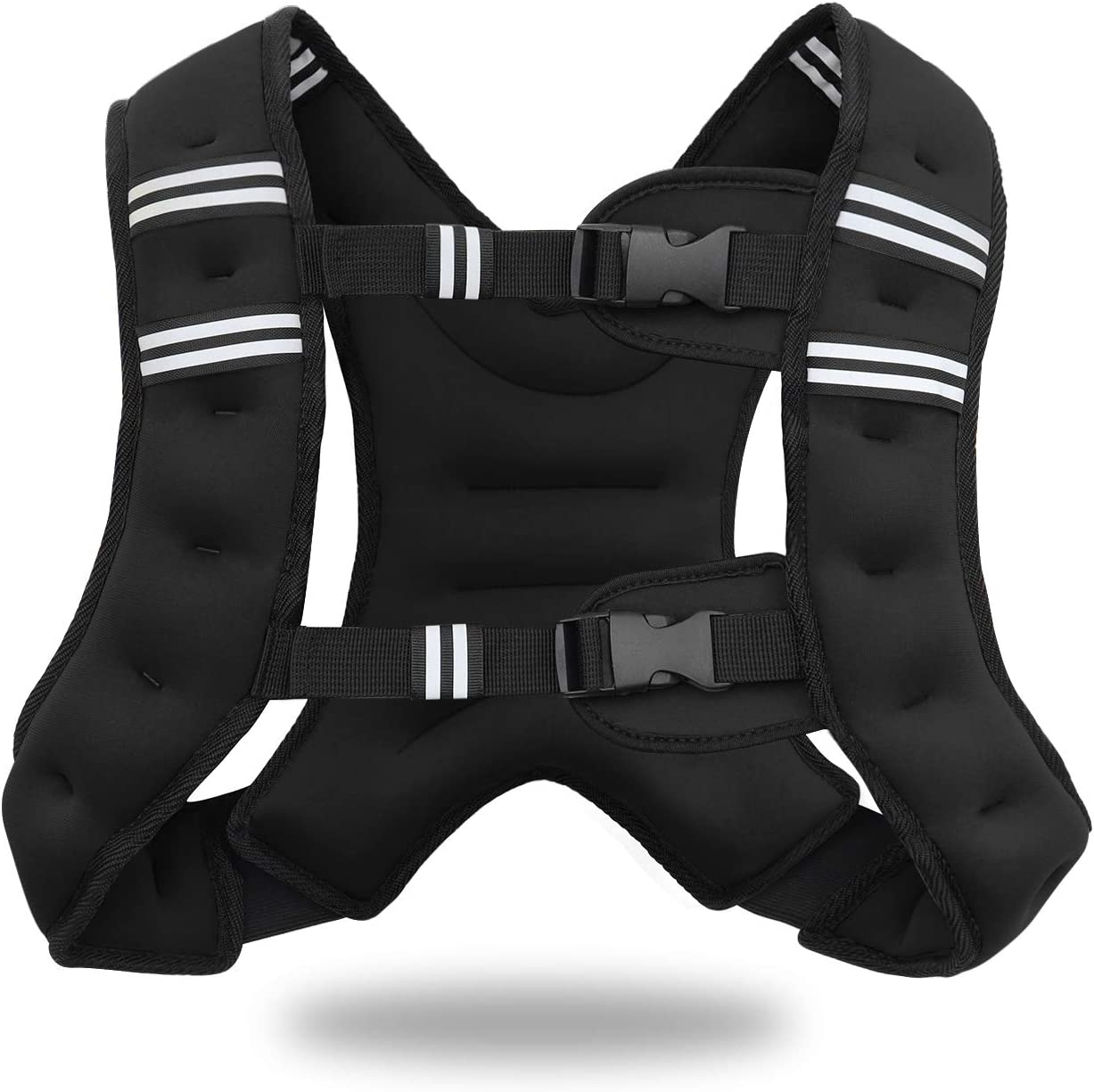 Jolitac Weight Vest for Men Women 5kg 8kg Strength Training Weighted Vests with Reflective Stripe /& Pocket Kids Running Weighted Workout Equipment