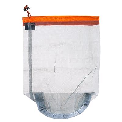 WinnerEco Travel Camping Sports Ultralight Mesh Stuff Sack Drawstring Storage Bag
