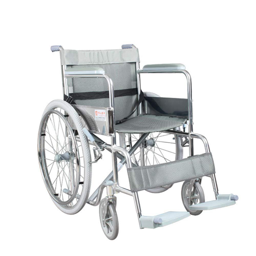 激安通販新作 FEIFEI 車椅子オールドマン折りたたみポータブルマニュアルアルミ折りたたみ車椅子 B07GXMQR43, リョウナンチョウ:16cb0937 --- a0267596.xsph.ru