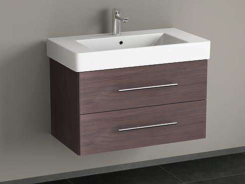keramik waschtisch waschplatz badezimmer mbel inkl waschbecken - Bad Waschbecken Mit Unterschrank