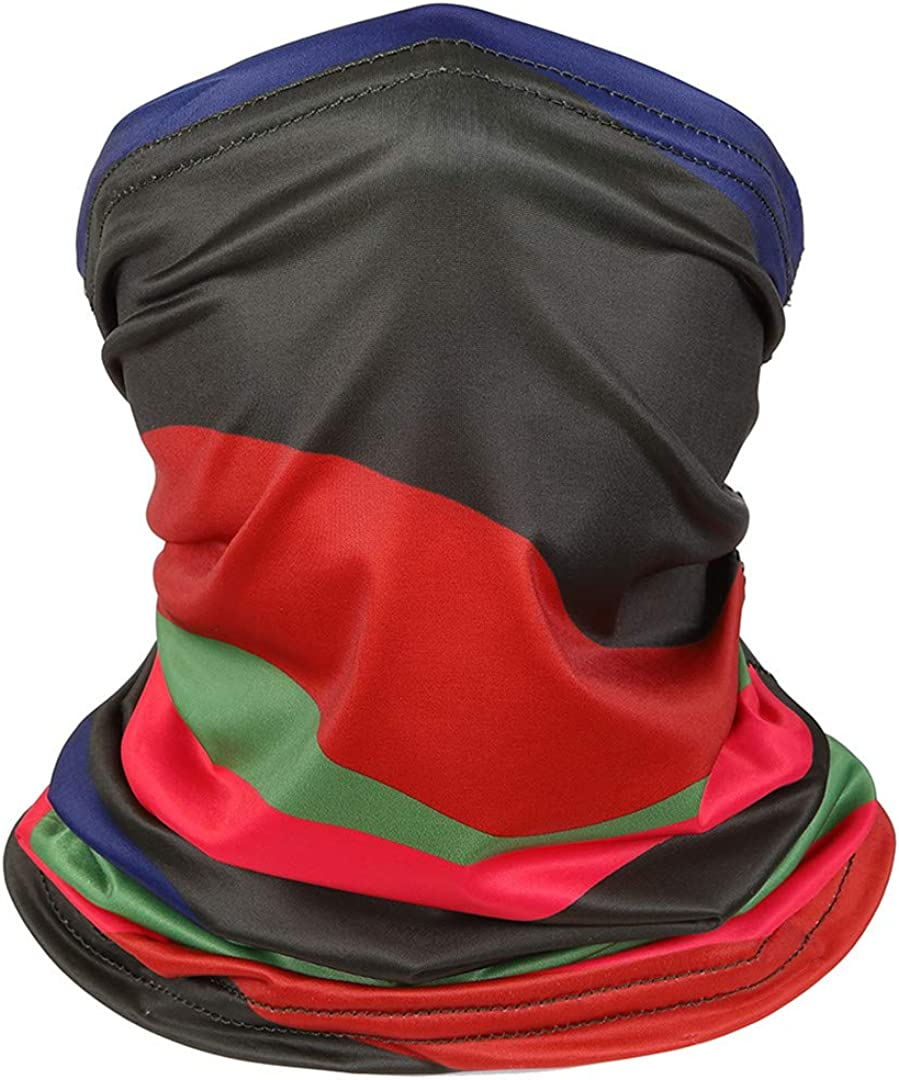 Neck Gaiter Face Cover Bandana Headband Neck Scarf for Dust Outdoors Sports
