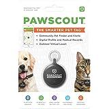 Pawscout Smarter Pet Tag: Community Pet Tracker (Bluetooth, not GPS), Medical Profiles, Virtual Pet Leash, Walk Tracker, Pet Points of Interest