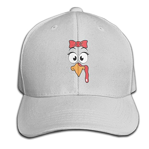 Turkey Face Unisex Adjustable Travel Tour Hat Sport Hat For Hunting ... d9ea431406a