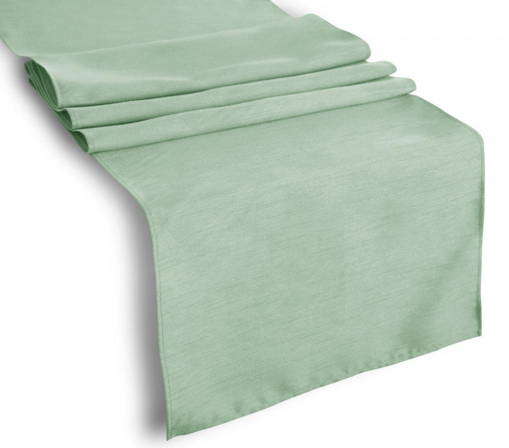 Creative 13''x 108'' Classic Solid Table Top Runner - Spa
