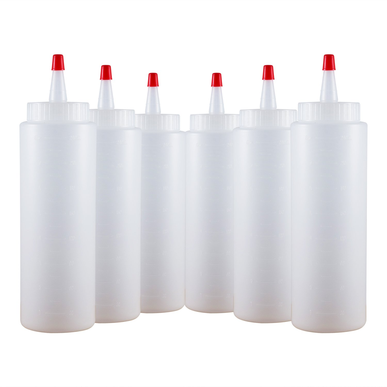 Houseables 6-Pk Plastic Squirt Bottle