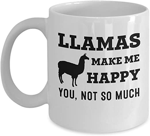 Novelty Funny Goats Make Me Happy You Not So Much Mug Gift Present