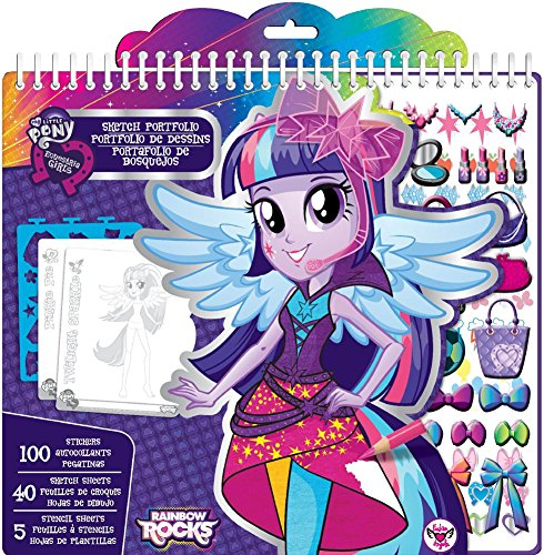 My Little Pony Equestria Girls Fashion Sketch Portfolio