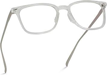 WearMe Pro Rectangular Blue Light Elegant Metal Frame Modern Glasses