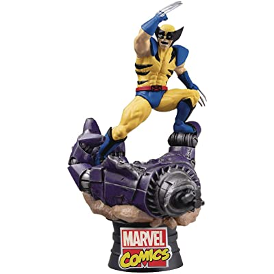 Beast Kingdom Marvel Comics Wolverine Ds-021 D-Stage Series Statue, Multicolor: Toys & Games
