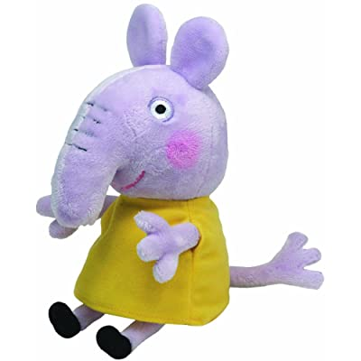 TY Beanie Baby - EMILY ELEPHANT (UK Exclusive - Peppa Pig): Toys & Games