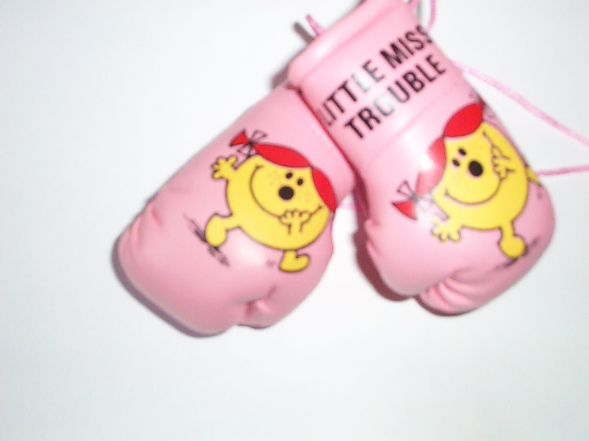 Mr Men Little Miss Trouble Mini gants de boxe