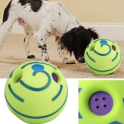 FSSJCKX - Pelota para perro, gato o gato con sonido divertido ...