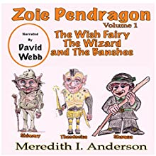 The Wish Fairy The Wizard and The Banshee: Zoie Pendragon, Volume 1 Audiobook by Mr. Meredith I. Anderson Narrated by David Webb