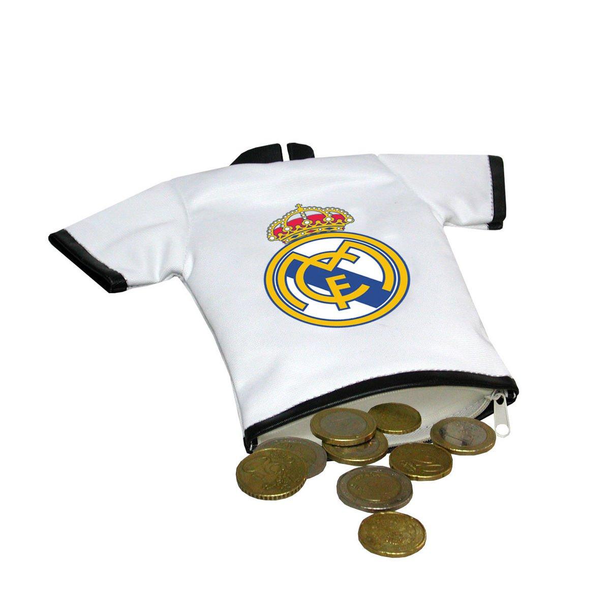 Monedero Real Madrid Camiseta: Amazon.es: Juguetes y juegos