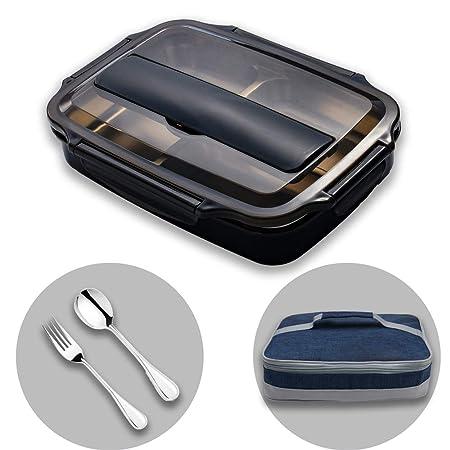 HUAFA Lunchbox Estilo bento, Incluyendo Bolsas de Almuerzo y ...
