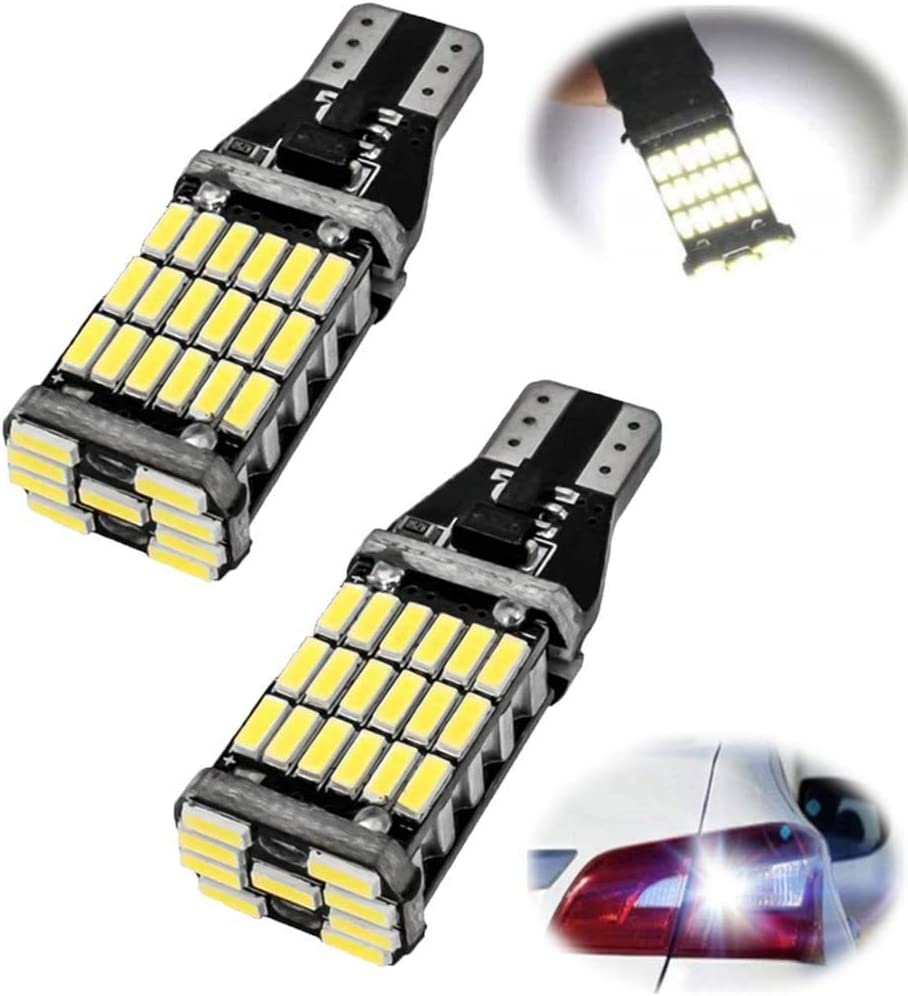 feux arri/ère LED universels Led ampoules de recul T15 4014 adapt/ées /à diverses voitures Universal LED Taillights Suitable for Various Cars 4 pi/èces