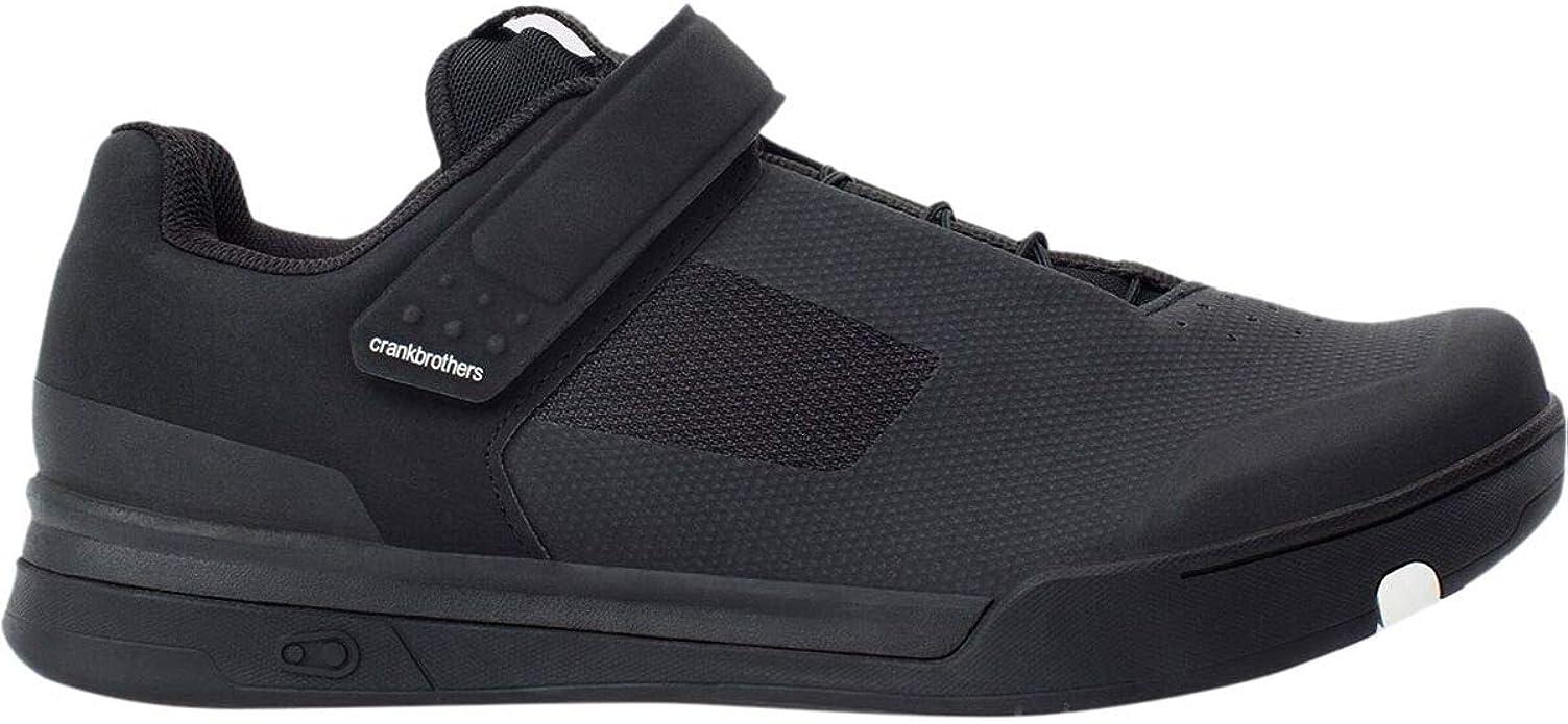 Crank Brothers Stamp SpeedLace Men/'s Flat Shoe Size 10 Gray//Red//Black