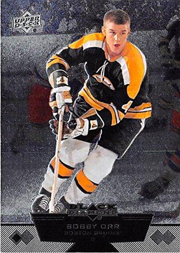 Bobby Orr Hockey Card (Boston Bruins Hall of Famer) 2012 Upper Deck Black Diamond #90