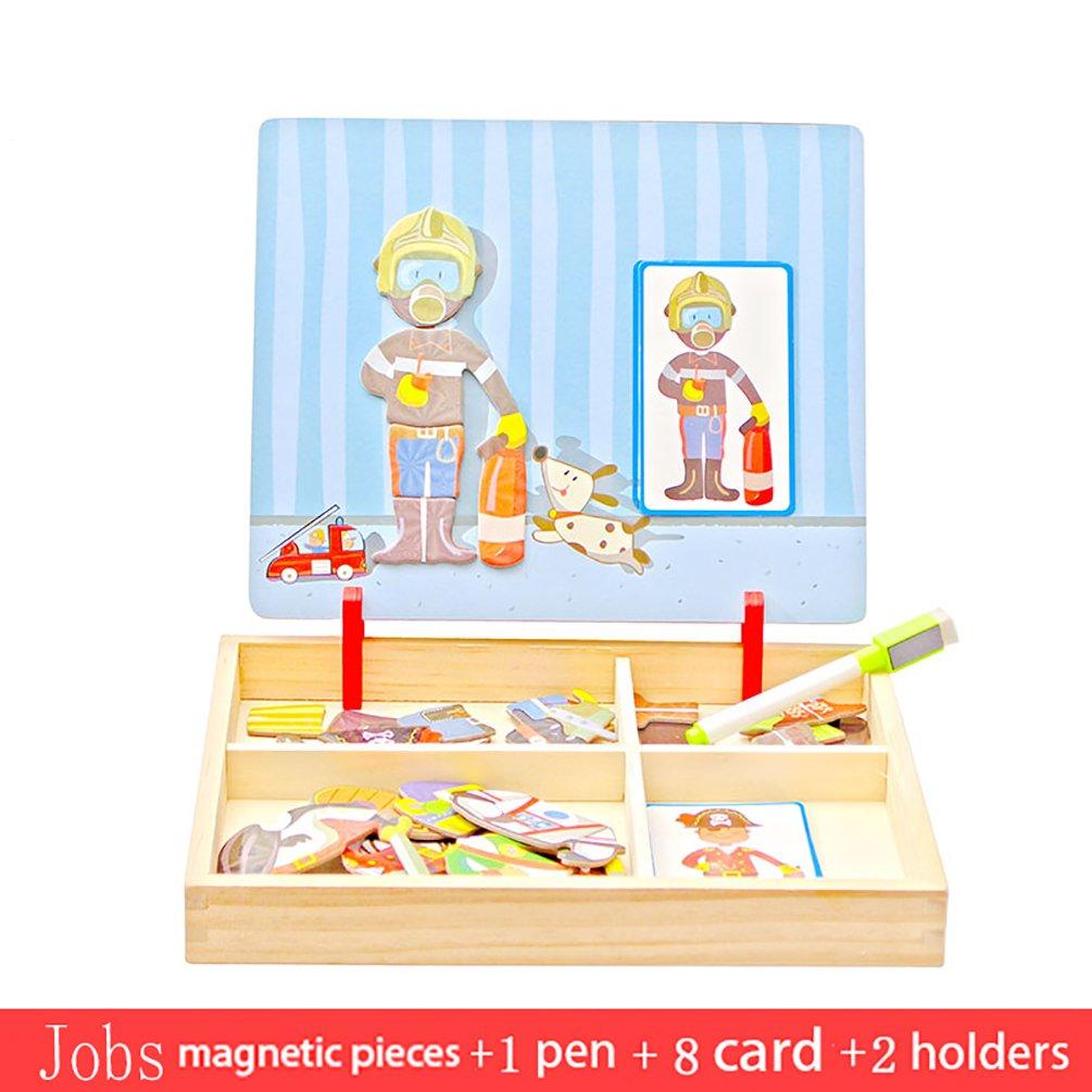 APig Pizarras Magnética Reversible Infantiles, Juguete ...