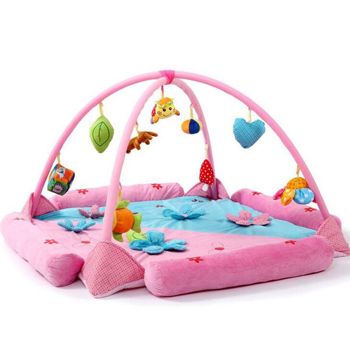 Guurachi Softly Flower Multi-Activity Playmat & Gym Baby Toy