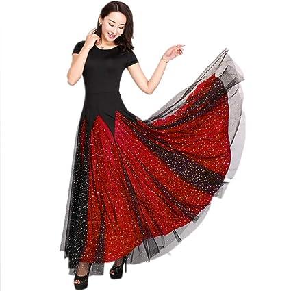 SCYTSD Traje de Baile Moderno para Mujer Ropa para Adultos ...