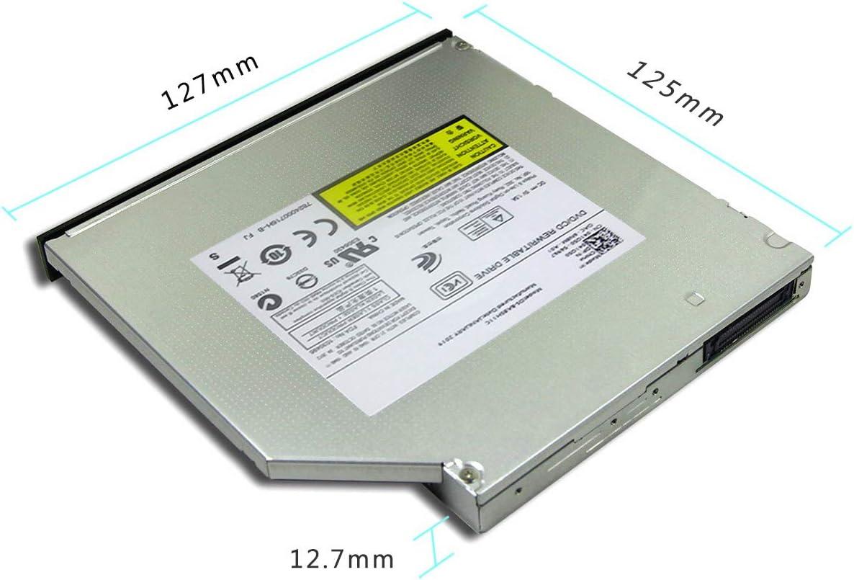 OSGEAR Internal/12.7mm/slim/IDE ATAPI/8x/DVDRW/CD/DVD/RW/Rom/Burner/Writer/Laptop/PC/Mac/Tray/Loading/Optical/Drive/Device